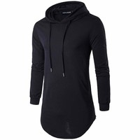 2017 Men Sweatshirts & Hoodies Male Tracksuit Hooded Jackets Fashion Casual Jackets Clothing For Men size S-2XL
