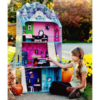 Teamson Kids - Monster Mansion Doll House-W-11094A