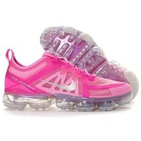 Nike Air Vapormax Newest Fashion Women Casual Rose Red Running Sneakers Sport Shoes