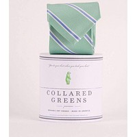 The James Tie in Teal by Collared Greens
