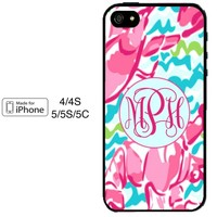 Lilly Pulitzer iPhone 6 Case 4 4S 5 5S 5C Monogrammed Personalized Case