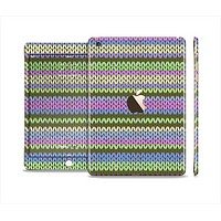 The Colorful Knit Pattern Full Body Skin Set for the Apple iPad Mini 3