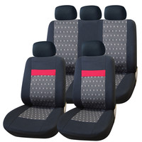 Furnistar 9-Piece Car Vehicle Protective Seat Covers CV0244