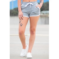 Charcoal Contrast Shorts