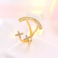 Stylish Jewelry Gift Shiny New Arrival Korean Fashion Accessory 925 Silver Ring [7587131975]
