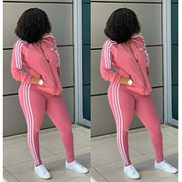NIKE Long Sleeve zipper Jacket Pants Two-Piece