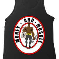 Money And Muscle Tank (Black)