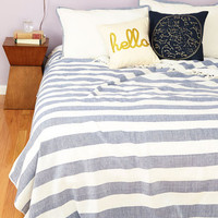 Nautical Maritime to Sleep Bedspread Set in Queen by Karma Living from ModCloth