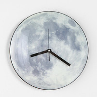 Urban Outfitters - Glow-In-The-Dark Moon Wall Clock