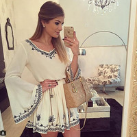 New Fashion Summer Sexy Women Mini Dress Casual Dress for Party and Date = 4725250756
