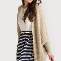 Addy Knit Taupe Cardigan