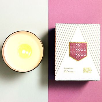 XOXO Love and Kisses Scented Soy Candle