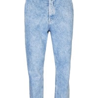 Acid Wash Skinny Carrot Jeans - View All - New In - TOPMAN USA