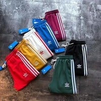 Adidas Women Men Three Stripe Casual Sport Pants