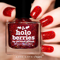 Picture Polish Holo Berries Nail Polish (Holiday Trio 2016 Collection)