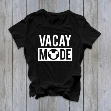 Vacay Mode - Disney Tee - Disney - Ruffles with Love - RWL - Unisex Tee - Graphic Tee