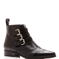 Early Leather Buckled Ankle Boots by Tabitha Simmons - Moda Operandi