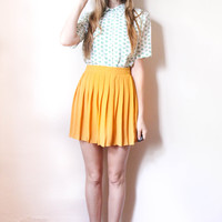tea and tulips boutique - one of a kind vintage. — girl scouts blouse