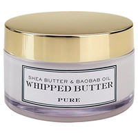 Shea Radiance Baobab and Shea Whipped Butter, Pure, 5 Ounce