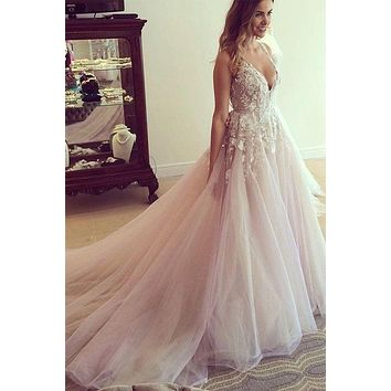 Colored Wedding Dress Backless Style, Bridal Gown ,Dresses For Brides, PM0006