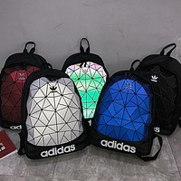 ADIDAS tide brand men and women diamond casual sports backpack