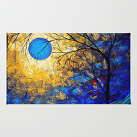 Abstract Art Bold Colorful Landscape Painting