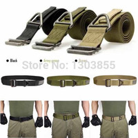 2015 Adjustable Survival Tactical Belt Emergency Rescue Rigger Militaria Military 3 Colors freeshipping