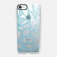 Abstraction Lines Watercolour Transparent iPhone 7 Case by Project M | Casetify