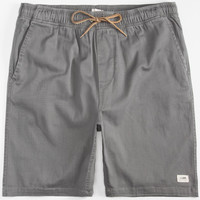 Lira Forever Mens Volley Shorts Charcoal  In Sizes