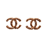 Twisted Antiqued Earrings Fashion Studs cc