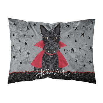 Halloween Vampire Scottie Fabric Standard Pillowcase VHA3037PILLOWCASE