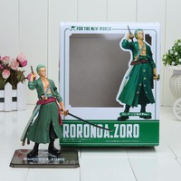 15cm/6inch One Piece Japanese Anime Cartoon Two Years Later Roronoa Zoro Action Figures PVC Toy Doll Model
