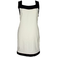 Tom Ford Dress New Black and White Tunic Shift Dress Vicose  4 | New