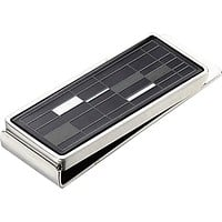 Visol Gridlock Stainless Steel Money Clip