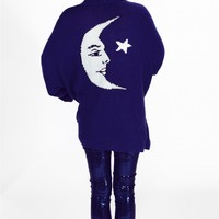 Moon and Star Slouch Cardigan