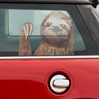 Sloth Car Decal | Urban Outfitters