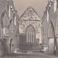 Antique Print Iona The Choir Looking East (A29) by Grandpa's Market