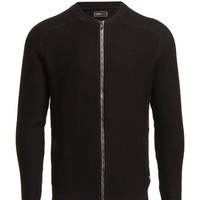 Jack & Jones Patch Cardigan 10-11-12 13 Core - Dna (Black) - In Stock! - Fast Delivery with Boozt.com