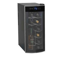12 Bottle Counter Top Wine Cooler New Black Avanti Thermoelectric Freestanding