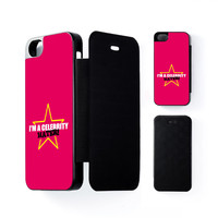 Celebrity Hater Black Flip Case for iPhone 5/5s by Chargrilled