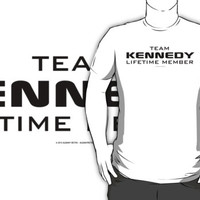 Team Kennedy Lifetime Member by Albany Retro