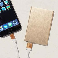 Slim Rose Gold Portable Power Charger