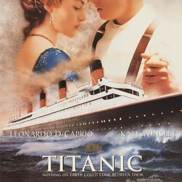 Titanic 1998 Movie Poster 22x34