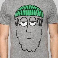 Brooklyn Beard Tee - Urban Outfitters