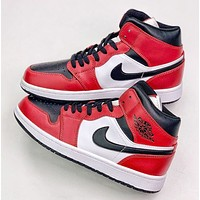 NIKE Air Jordan 1 Casual sports basketball shoes-22