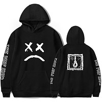 Lil Peep Hoodies hell boy lil.peep men/women Hooded Pullover male/female sudaderas cry baby hood hoddie Sweatshirts love