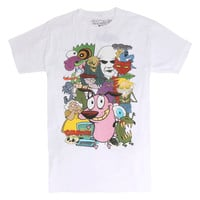 Courage The Cowardly Dog Characters T-Shirt