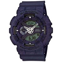 Casio G-Shock Big Case Series - Blue Heather Pattern - Magnetic Resistant - 200M