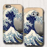 Great Wave Off Kanagawa iphone 6s case, Tsunami iPhone 6 case, Samsung Galaxy Note 5 case, iPhone 6 plus, iPhone 5 cover, Samsung Galaxy S6