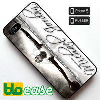 Michael Jordan White Iphone 5 Rubber Case